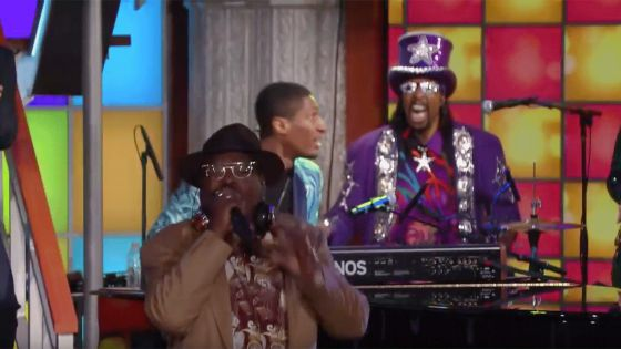 George Clinton on The Late Show with Stephen Colbert